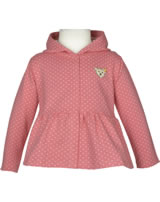 Steiff Sweatjacke m. Kapuze LITTLE PEACH allover 6912103-0003