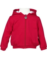 Steiff Sweatjacke m. Kapuze LITTLE PIRAT GIRL tango red 6832003-2016