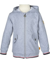 Steiff Sweatjacke m. Kapuze SEASIDE softgrey 6833603-8200