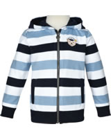 Steiff Sweat jacket SEA BEAR bright white 2012426-1000