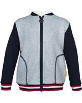 Steiff Sweat jacket SEA BEAR soft grey melange 2012425-9007