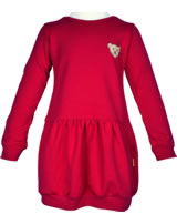 Steiff Sweat-Kleid Langarm SPORTY GIRL tango red 6713008-2016