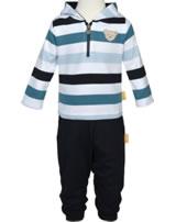 Steiff Cardigan BEAR BLUES stripes black iris 2011204-3032