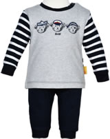 Steiff Sweatshirt and trouser BEAR CREW steiff navy 2012122-3032