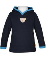 Steiff Sweatjacket hooded BLUE STRIPE black iris 1922512-3032