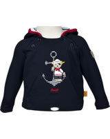 Steiff Sweatshirt m. Kapuze BOY LITTLE PIRAT marine 6832513-3032