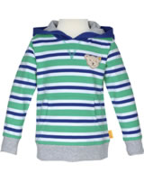 Steiff Sweatshirt hooded SUMMER BRIGHTS bright white 001913121-1000