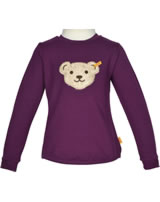 Steiff Sweatshirt m. Quietsche FROSTED FLOWERS pickled beet 6843313-7044