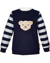 Steiff Sweatshirt GO BEAR GO black iris 2011422-3032