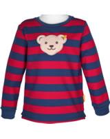 Steiff Sweatshirt Squeaker RED AND BLUE WINTER tango red 1921139-4008