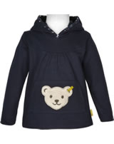 Steiff Sweatshirt mit Quietsche BLUEBERRY HILL black iris 1922605-3032