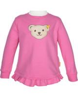 Steiff Sweatshirt mit Quietsche SWEET CHERRY pink carnation 2013423-3019