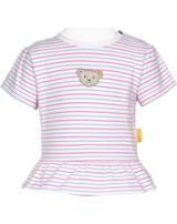 Steiff T-Shirt Kurzarm BEAR AND CHERRY barely pink 2013233-2560