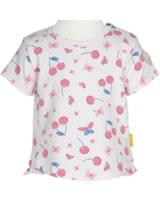 Steiff T-Shirt Kurzarm BEAR AND CHERRY barely pink 2013234-2560