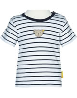 Steiff T-Shirt short sleeve BEAR BLUES stripes black iris 2011224-3032