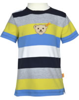 Steiff T-Shirt short sleeve CYBER YELLOW stripe 6913721-0001