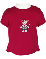 Steiff T-Shirt short sleeve GIRL LITTLE PIRAT tango red 6832011-2016