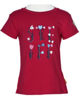 Steiff T-Shirt short sleeve HELLO SPRING tango red 6913021-2016