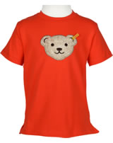 Steiff T-Shirt Kurzarm Quietsche SEASIDE cherry tomato 6833631-2113