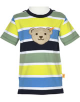 Steiff T-Shirt Kurzarm Quietsche SPORTY KIDS stripe 6913611-0001