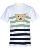 Steiff T-Shirt Kurzarm Quietsche SPORTY KIDS stripe 6913661-0001