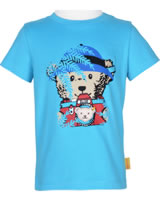 Steiff T-Shirt Kurzarm SAFARI BEAR blue atoll 2013328-6041
