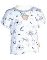 Steiff T-Shirt Kurzarm SAFARI BEAR bright white 2013139-1000