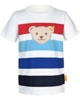 Steiff T-Shirt Kurzarm SAFARI BEAR bright white 2013326-1000