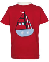 Steiff T-Shirt short sleeve SEA BEAR tango red 2012408-4008
