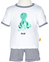 Steiff T-Shirt Kurzarm + Shorts SUMMER COLORS marine 6832825-3032