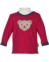 Steiff T-Shirt Squeaker long sleeve COSY BLUE tango red 1921315-4008