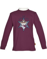 Steiff T-Shirt Langarm LITTLE COWBOYS burgundy 6843701-2761