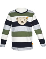 Steiff T-Shirt Langarm mit Quietsche BEST FRIENDS stripe 6843521-0001