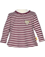 Steiff T-Shirt long sleeve ROSE DENIM beet red 1922213-4010
