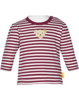 Steiff T-Shirt long sleeve ROSE DENIM beet red 1922232-4010