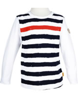 Steiff T-Shirt long sleeve SEASIDE bright white 6833633-1000