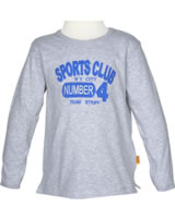 Steiff T-Shirt long sleeve SPORTS CLUB morning grey 6833401-8432