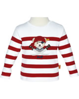 Steiff T-Shirt Langarm TREASURE ISLAND tango red 6912523-2016