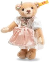 Steiff Teddybär Great Escapes München 15 cm Mohair honig 026904