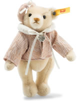 Steiff Teddybär Great Escapes Paris 16 cm Mohair blond 026881