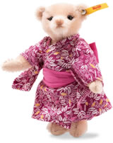 Steiff Teddybär Great Escapes Tokio 15 cm Mohair rosa 026799