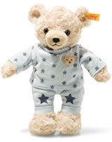 Steiff Teddy Bear Boy with pyjama 27 cm light blond/blue 109881
