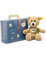 Steiff Ours Sunny beige 22 cm dans une valise 114014