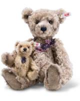 Steiff Teddy assortiment Flora et Florinchen 36 cm mohair brun 021411
