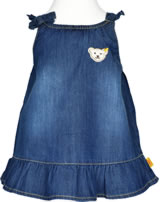 Steiff Dress denim LITTLE PIRAT GIRL dark blue denim 6832018-0012