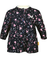 Steiff Tunika/Shirt long sleeve BEAR IN MY HEART black iris 2011141-3032