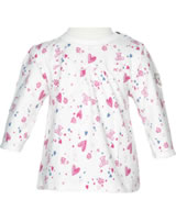 Steiff Tunika/Shirt long sleeve BEAR IN MY HEART cloud dancer 2011119-1001