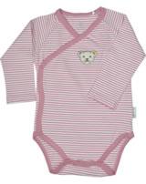 Steiff Wickelbody Langarm BABY UNISEX ORGANIC mauveglow 2012306-3021