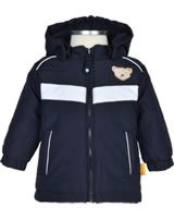 Steiff Winter-Jacke mit Kapuze Baby OUTDOOR black iris 1923820-3032
