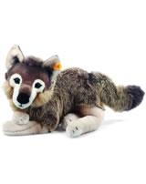 Steiff Plüsch Wolf Snorry grau/braun 40 cm 069284